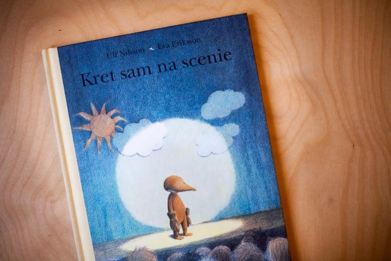"""""""Kret sam na scenie"""" Nilsson Ulf - Wyd. Eneduerabe – 10 najlepszych książek dla dzieci, 2016, 2015"""
