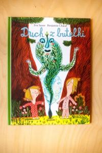 """""""Duch z butelki"""" Eva Susso, il. Benjamin Chaud - Wyd. Zakamarki – 10 najlepszych książek dla dzieci, 2016, 2015"""