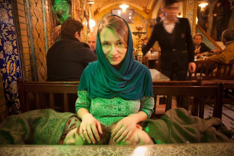 In the restaurant in Tehran, Iran