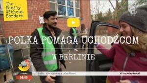 Polka pomaga uchodźcom w Berlinie TVN 2016