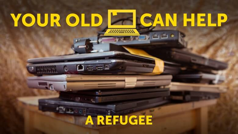 Laptop for Refugees - Donate
