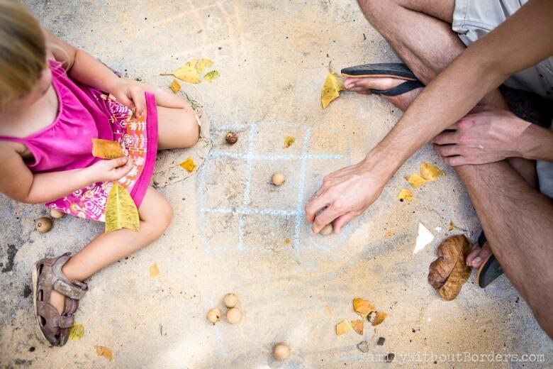 Zabawy w podroze z dzieckem