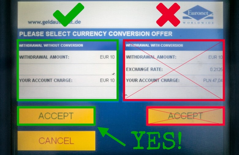 Atm Currency Converserion
