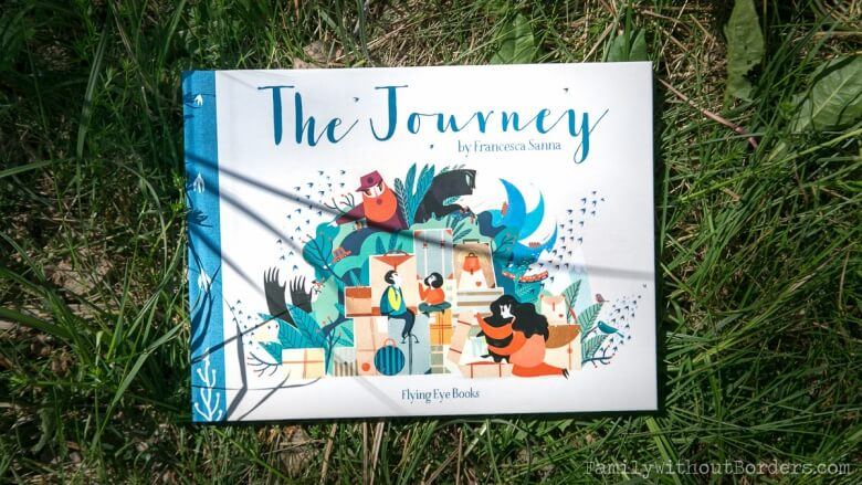 Książka: The Journey, Francesca Sanna, Wyd. Flying Eye Books
