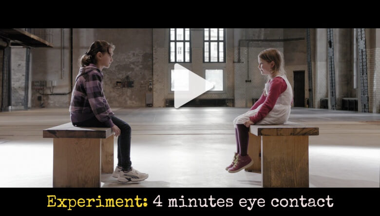Amnesty International video experiment: what happen when you look into eyes of a stranger for 4 minutes?