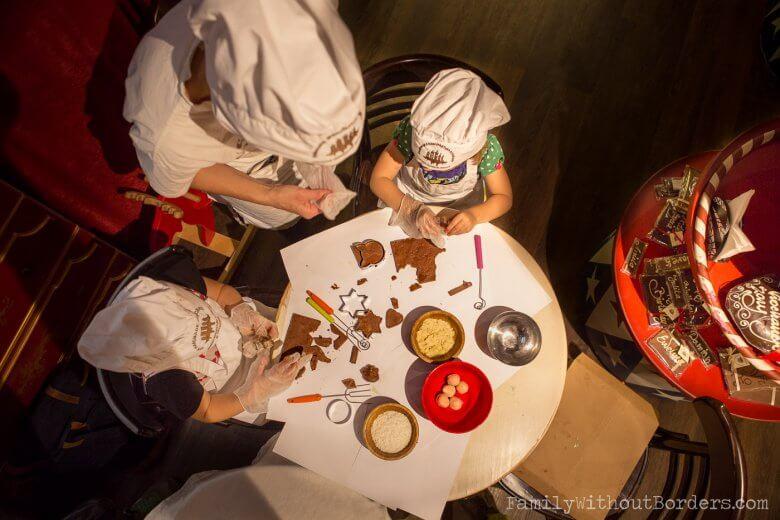warsztaty czekoladowe, Kraków, podróż z dzieckiem