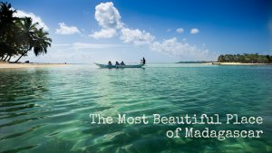 Pirogue from Ile aux Nattes to St. Marie Island (Madagascar)