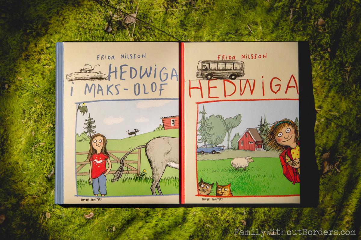 Książka: Hedwiga, Frieda Nilsson